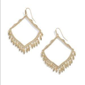 Kendra Scott Lacy Gold Earrings